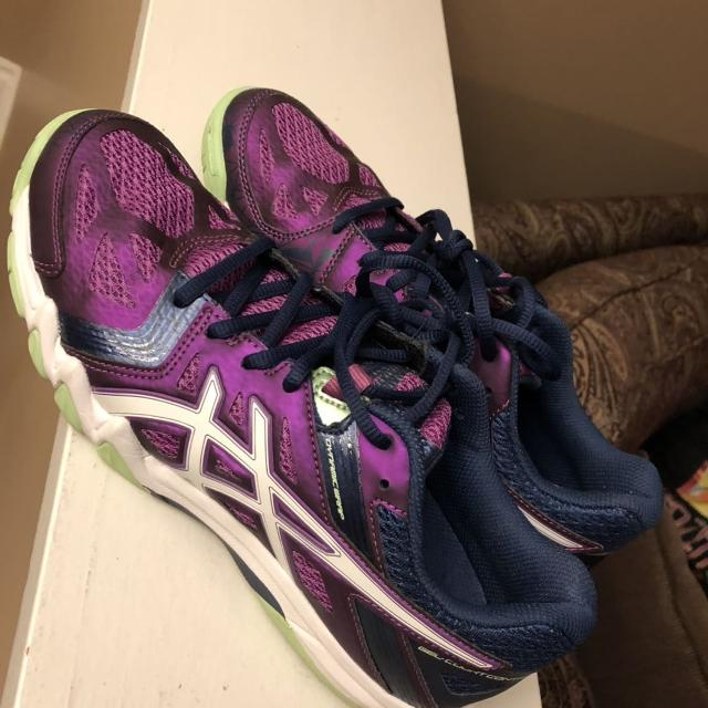 34ec1d2d53f0 Find more New never Worn Ladies Asics Gel Court Control Volleyball ...