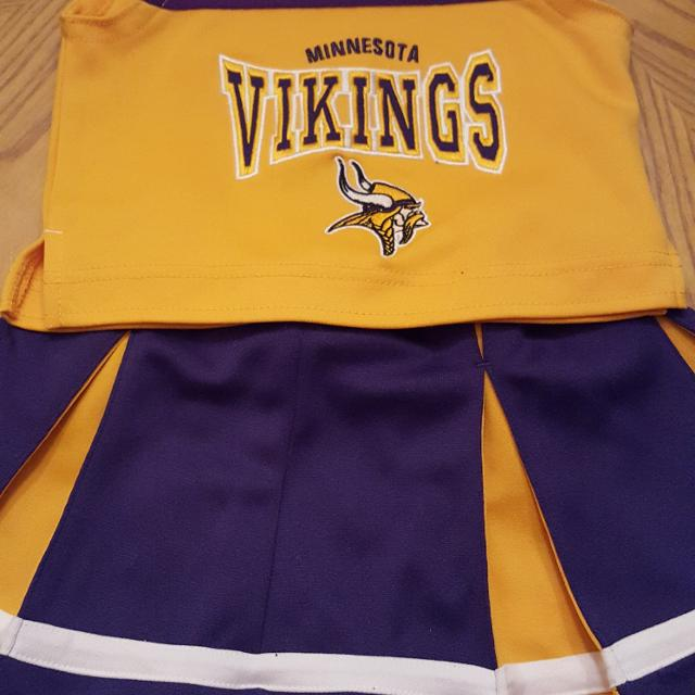 2t Minnesota Vikings Outfit