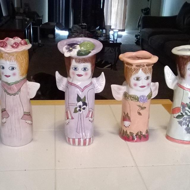 Best Susan Paley Ganz Angel Vases For Sale In Mountain Brook