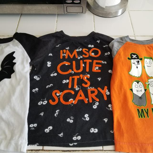 b017ec694 Find more Toddler Boy Halloween Shirts for sale at up to 90% off