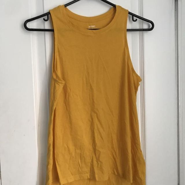 721d9634bf1c1 Best New (never Worn) Old Navy Mustard Tank Top for sale in Dollard-Des  Ormeaux