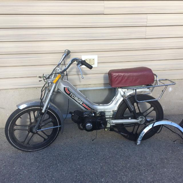 Old School Moped
