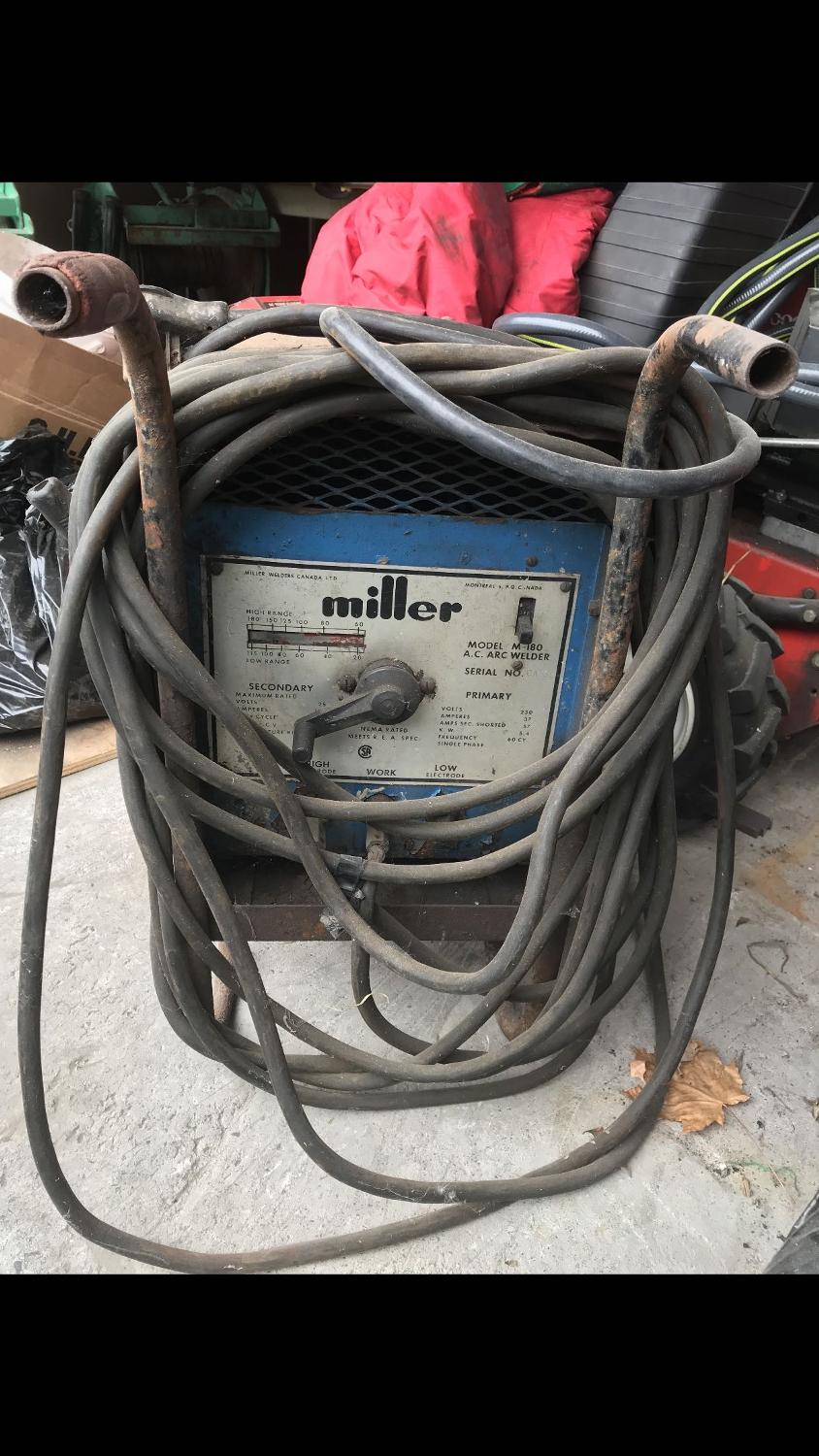 Miller Arc Welder >> Best Welder Miller Arc For Sale In Vaudreuil Quebec For 2019