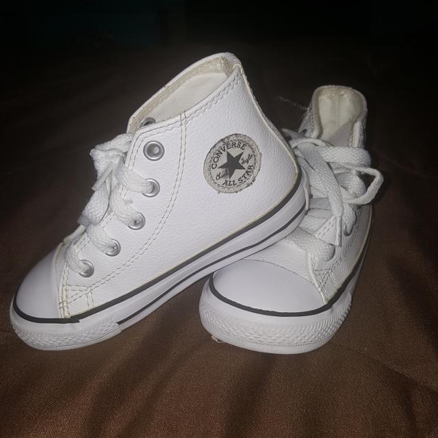 976310bb3e0b Best Size 7 Leather High Top Converse for sale in Hendersonville ...