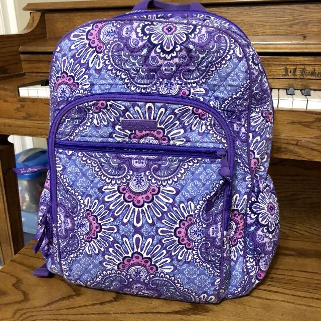 Find more Gorgeous Vera Bradley Backpack   Computer Compartment ... 02d78efea3b1b