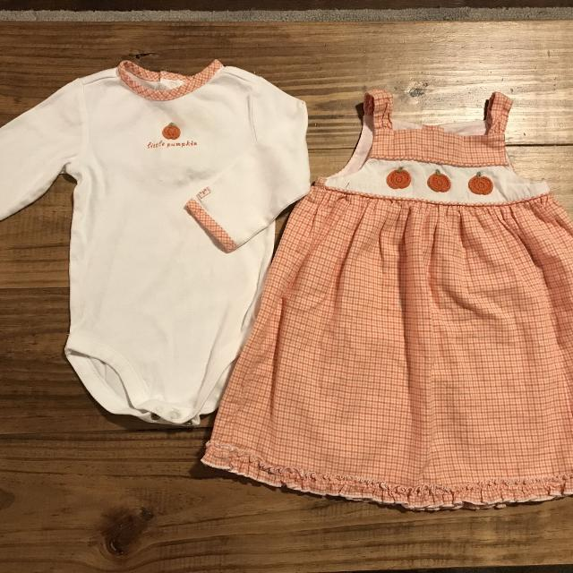 ed9e787b72d1 Best 6-12 Month Janie And Jack Fall Outfit. So Cute! Shirt Has Color Bleed  And Staining Around Snaps(pics), Dress Looks Great! for sale in Mobile, ...