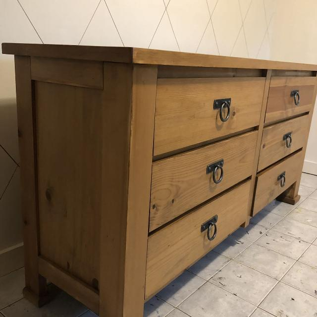 Rustic Pine Toung And Groove Interior Design: Find More Rustic Pine Dresser For Sale At Up To 90% Off