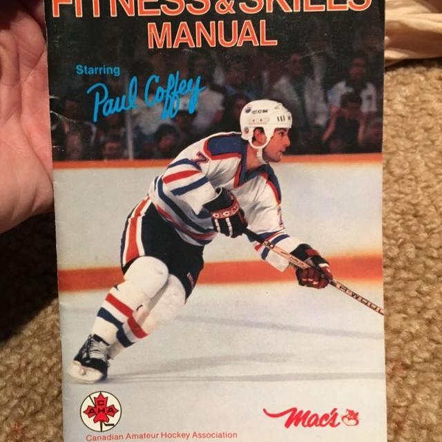 Best 1985 Paul Coffey Hockey Manual For Sale In Regina Saskatchewan