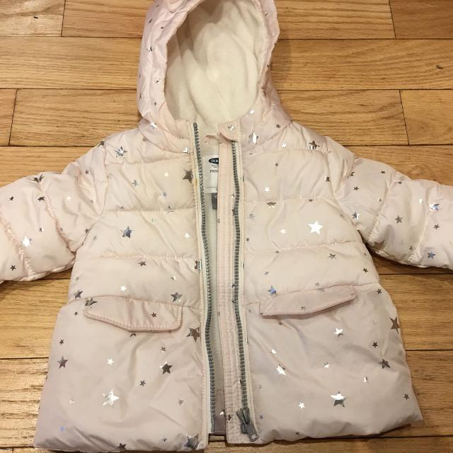 bdc96d11c Find more Baby Girl Winter Jacket 12-18 Months Old Navy for sale at ...
