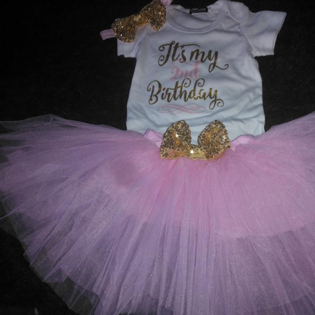 Best 2nd Birthday Cake Smash Outfit For Sale In Airdrie Alberta 2019