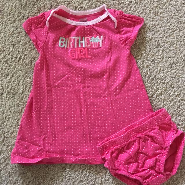 4a8ad4e28 Find more Carter's 12m Birthday Girl Dress for sale at up to 90% off