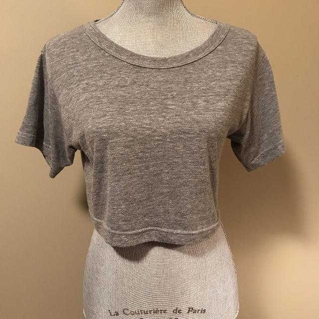8c84ea8fee8 Find more American Apparel Crop Top for sale at up to 90% off