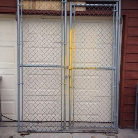 Used, LARGE COMMERCIAL CHAIN LINK GATE -... for sale  Canada