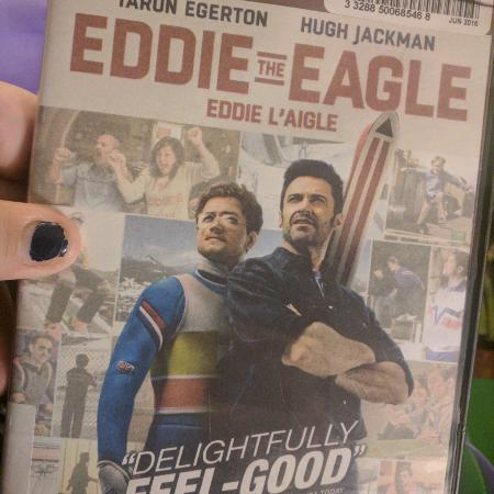 Eddie the Eagle. Based on a true... for sale  Canada