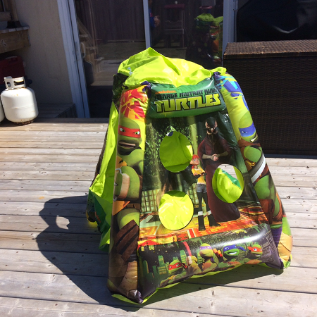 Inflatable tent, used for sale  Canada