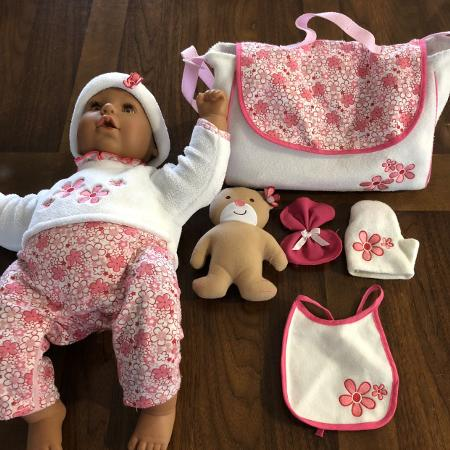 Baby doll with accessories. for sale  Canada