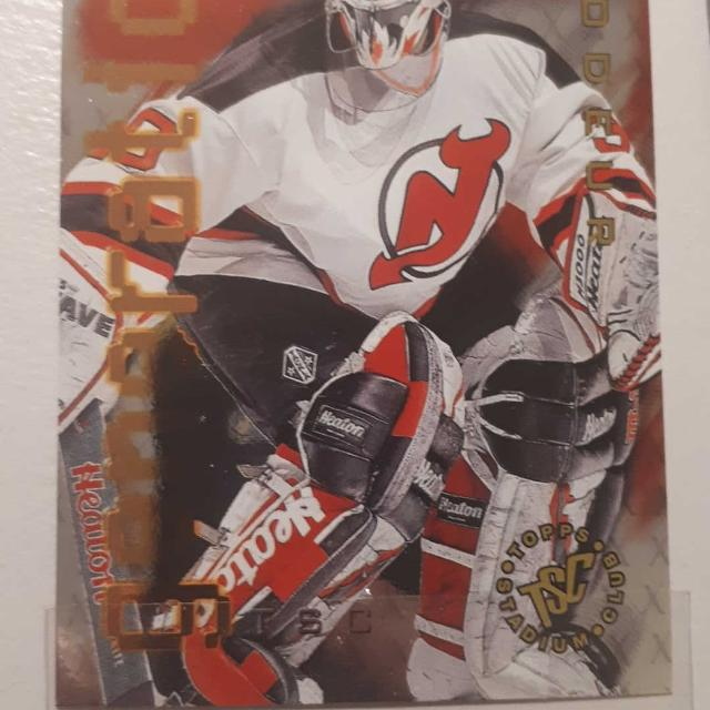 Best 1995 1996 Martin Brodeur Collectors Card Hockey New Jersey