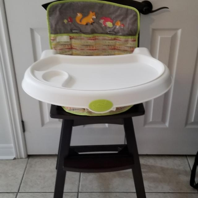 Summer Infant Fox And Friends Wood High Chair