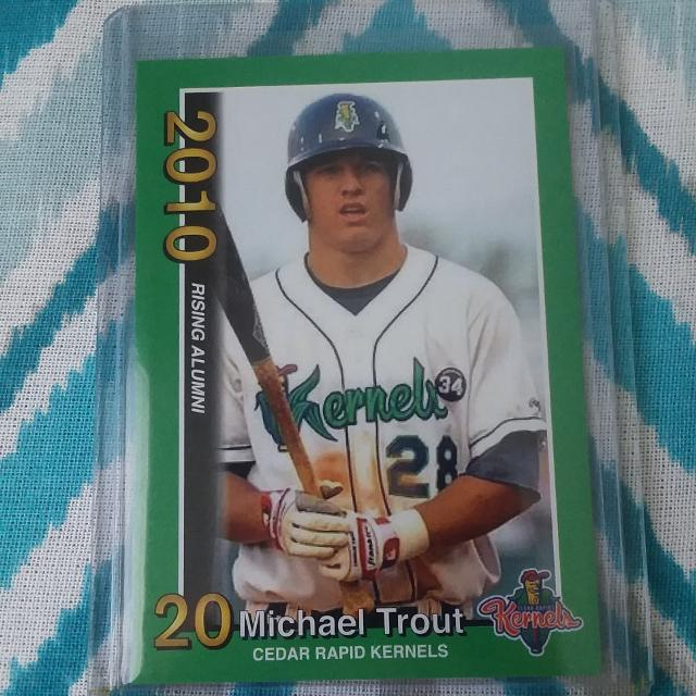 Mike Trout Rookie Card