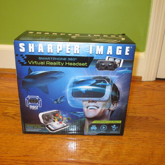 Best New Sharper Image Smartphone Virtual Reality Headset For Sale