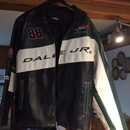 Leather Dale Earnhardt Jr Jacket for sale  Canada