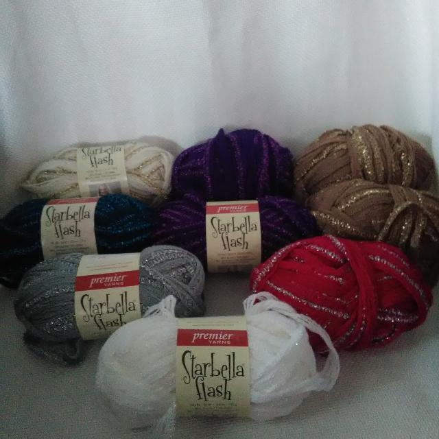 Lot of Starbella Flash yarn