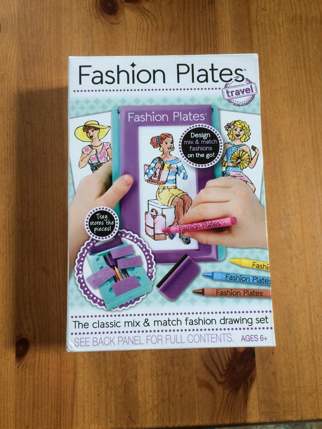 Find More Bnib Fashion Plates Travel Set For Sale At Up To 90 Off