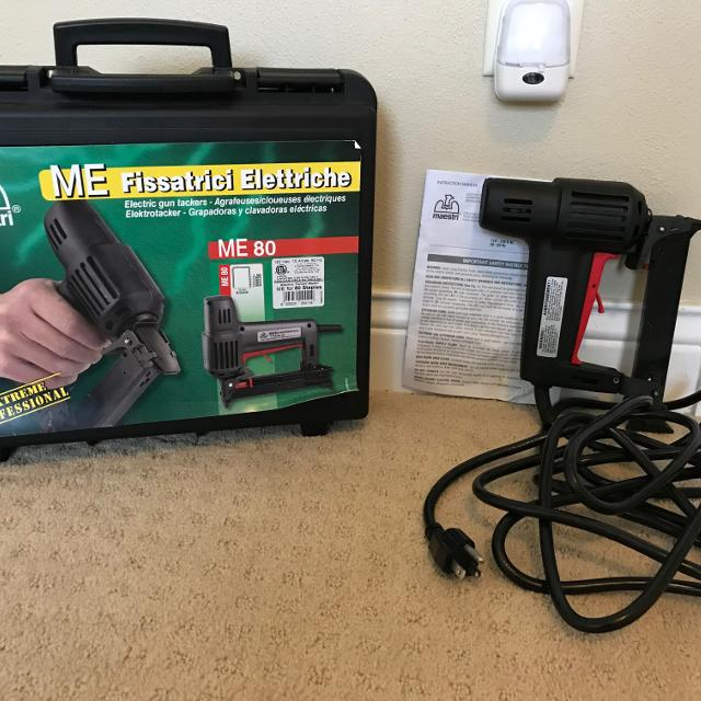 Best Brand New Heavy Duty Electric Professional Upholstery Staple