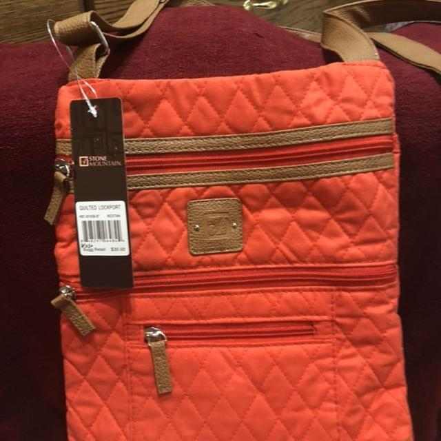 Best Red Stone Mountain Quilted Shoulder Bag for sale in Minot ... 0f4c13f1c2cc9