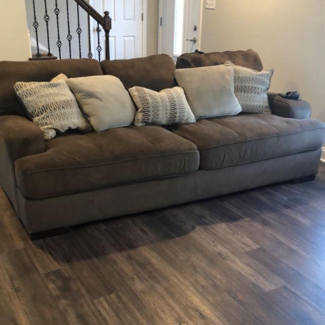 Best Ashley Furniture Deep 45 Couch Like New For Sale In Louisville