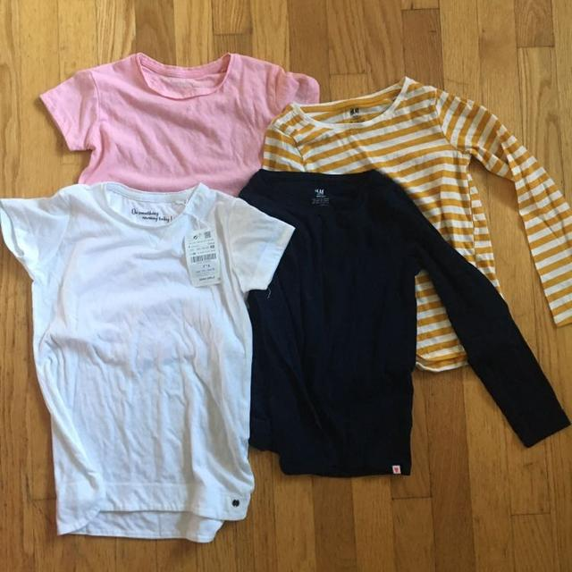 3cb2b0fd NWT, NWOT, EUC Zara and H&M Girls tops size 6 and 6-8