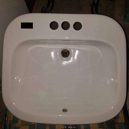 Ibiza style bathroom drop in sink for sale  Canada