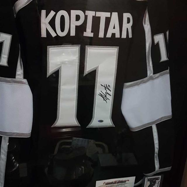 Anze Kopitar Autographed Jersey with certificate of authenticity just  reduced