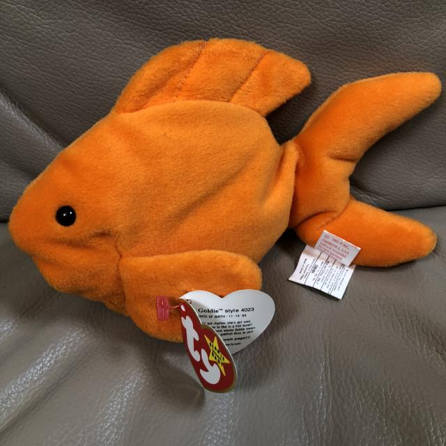 859dfce7e6c Best Ty Beanie Baby Goldie The Goldfish - Nwt for sale in Calgary ...