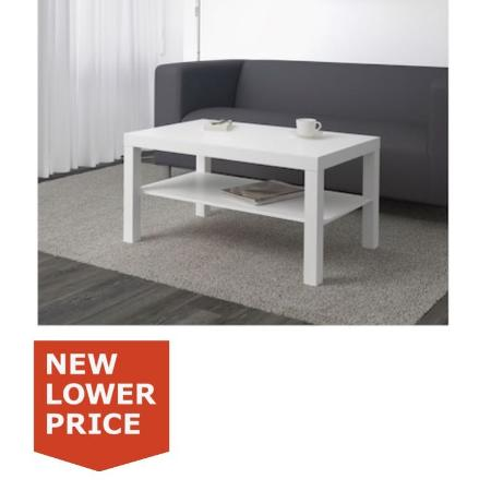 ISO ikea white LACK coffee table for sale  Canada