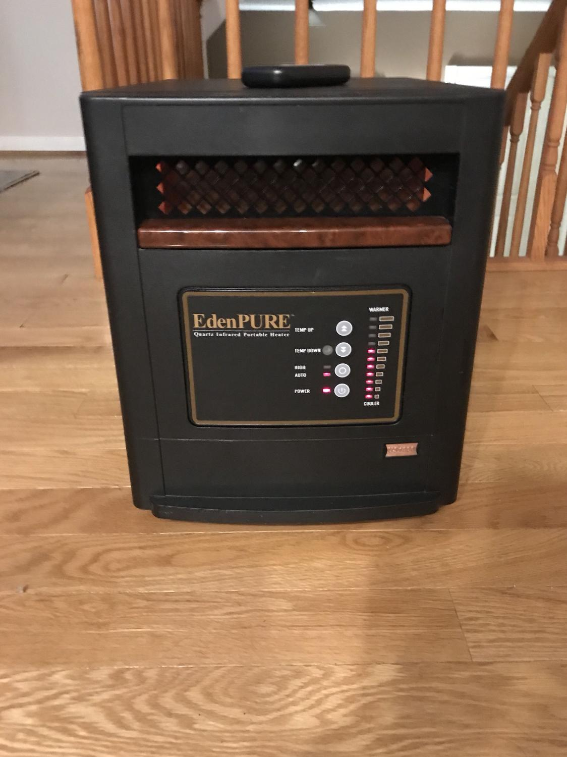 Find More Eden Pure Copper Smart 1000 Space Heater With Remote For