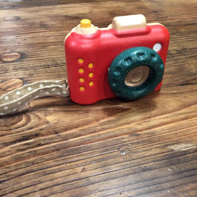 Plan Toys My First Camera With Kaleidoscope Lens Euc