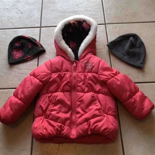 """1a3150619 Find more Baby Girls """"london Fog"""" Winter Jacket Size 24 Months Euc ..."""