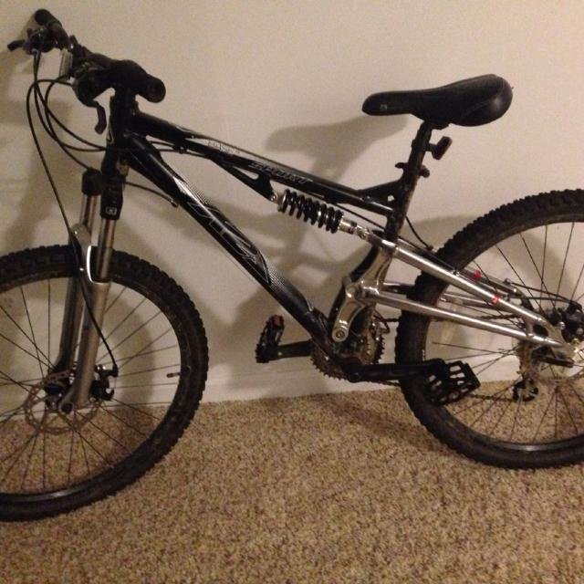 Best Used Medium K2 Base Sport Full Suspension Mountain Bike For