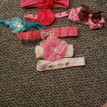 Baby Girl head bows, used for sale  Canada