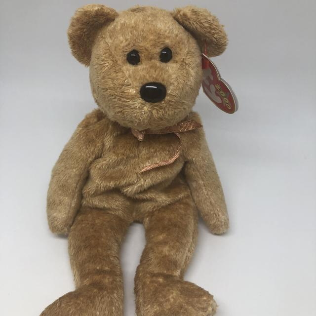 3526debb591 Best Ty Beanie Baby Cashew The Bear - Mwmt for sale in Calgary ...