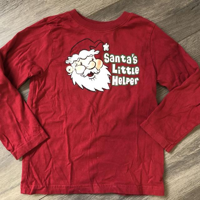 0d904634d Find more The Children's Place Christmas Long Sleeve Shirt (size 4 ...