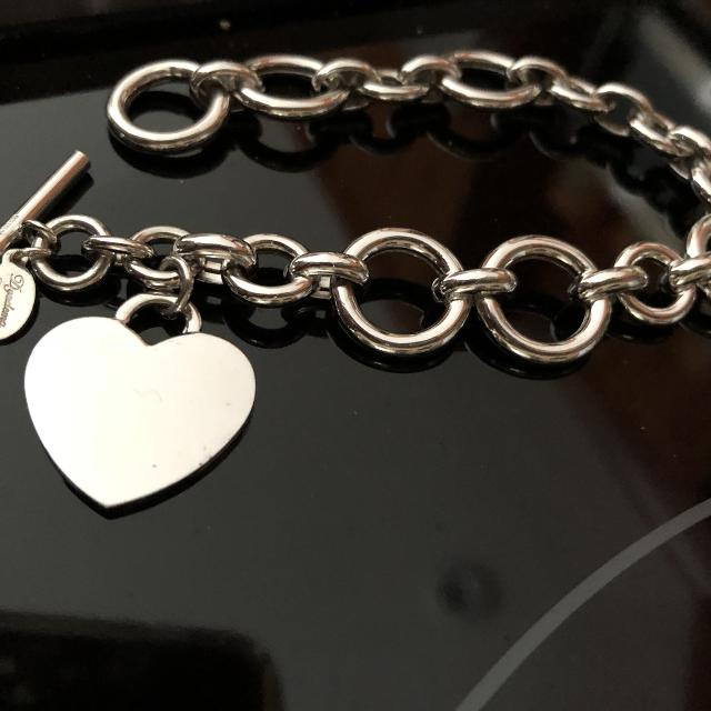 5815f184e Find more Tiffany Style Heart Bracelet 925 Made In Italy for sale at ...