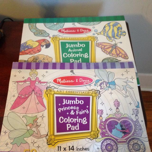 Melissa and Doug Coloring books/pads