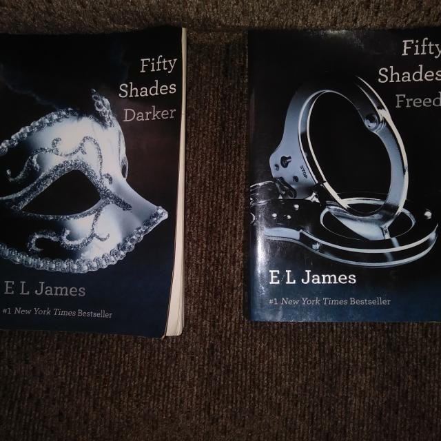 more 50 shades of grey books
