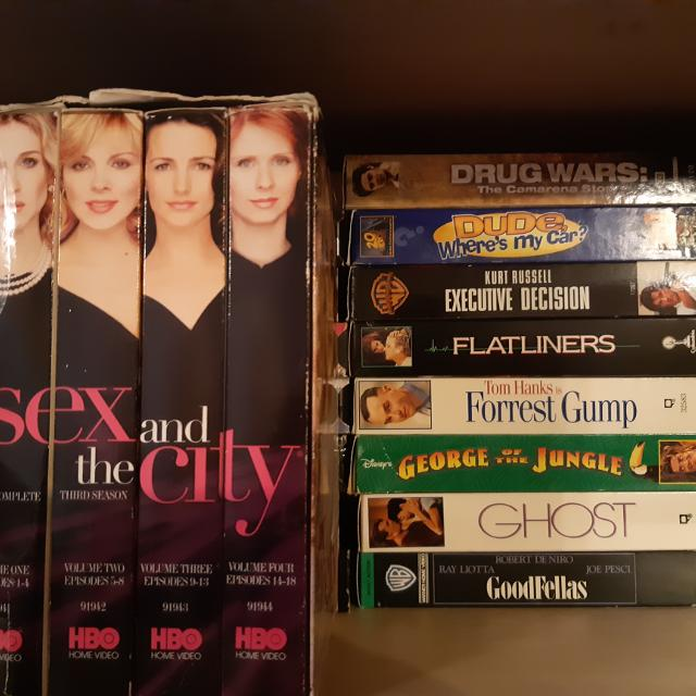 Movies on VHS