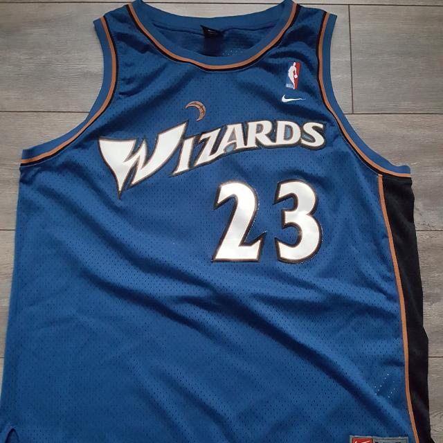the latest 94ff7 e1dce Used Micheal Jordan Washington Wizards Jersey