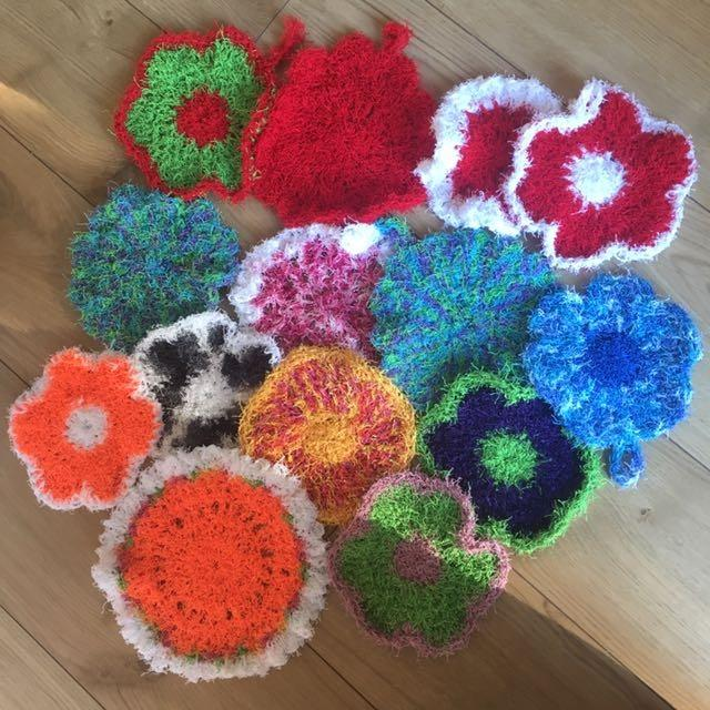 Best Handmade Crocheted Pot Scrubbers For Sale In Victoria British