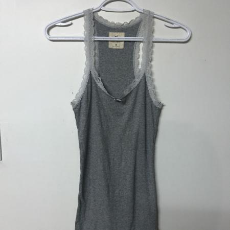 Hollister tank top with lace trim.... for sale  Canada
