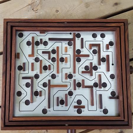Used, Rare Mid Century Labyrinth Board Game... for sale  Canada